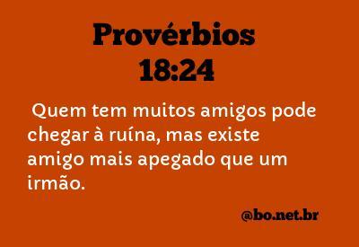 Provérbios 1824 Nvi